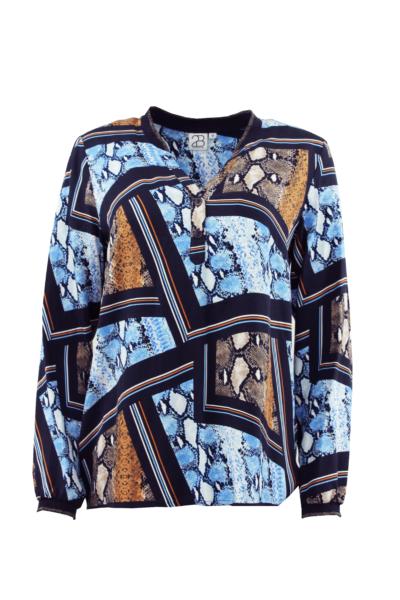 AXELINE Skjorte - Blue