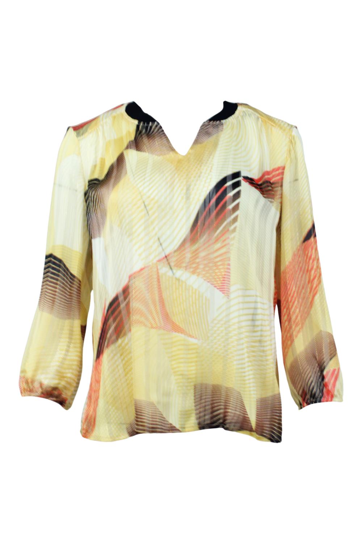 ODETTE Bluse - Gold